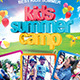 Kids Summer Camp Flyer Templete - GraphicRiver Item for Sale