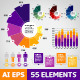 Infographic Elements Template - Vector Pack - GraphicRiver Item for Sale