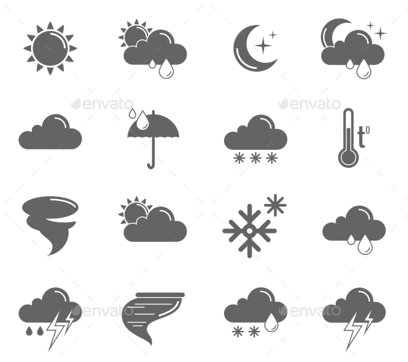 Weather Icons Set - Technology Icons