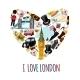 London Touristic Poster