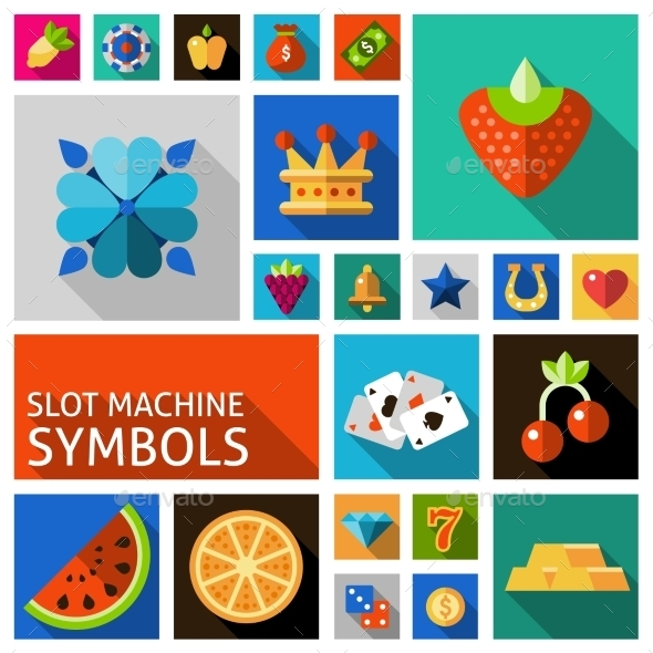 Slot Machine Symbols Set - Business Conceptual