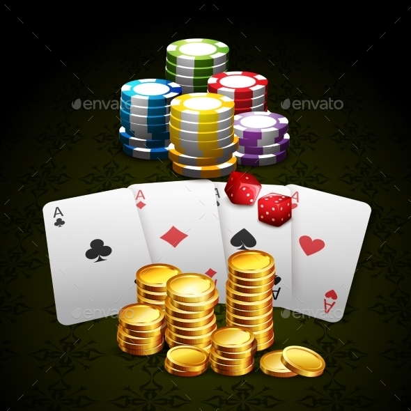 Casino And Gambling Background  - Concepts Business
