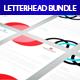 Letterhead Print Templates Bundle  - GraphicRiver Item for Sale