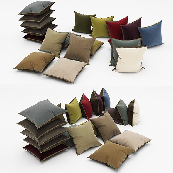 Pillows 71 - 3DOcean Item for Sale