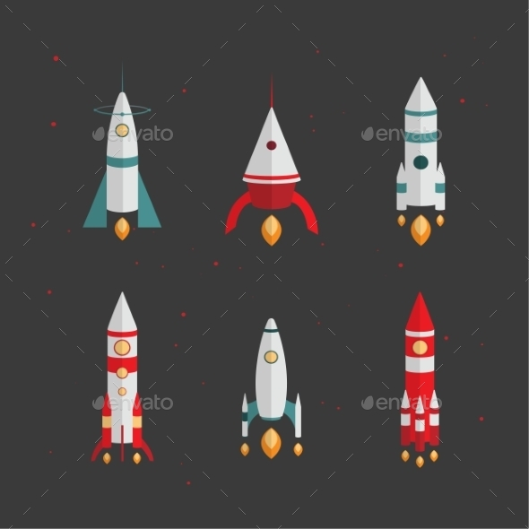 Types Of Rockets. Launching To Space - Concepts Business
