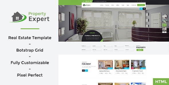 Property Expert – Real Estate HTML Template