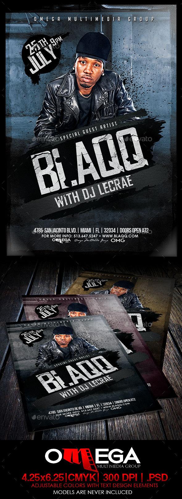 Blaqq - Events Flyers