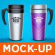 Travel Mug Mock-Up - GraphicRiver Item for Sale