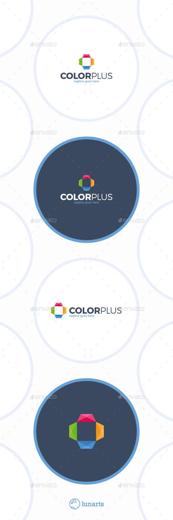 Color Medical Plus Logo - Symbols Logo Templates