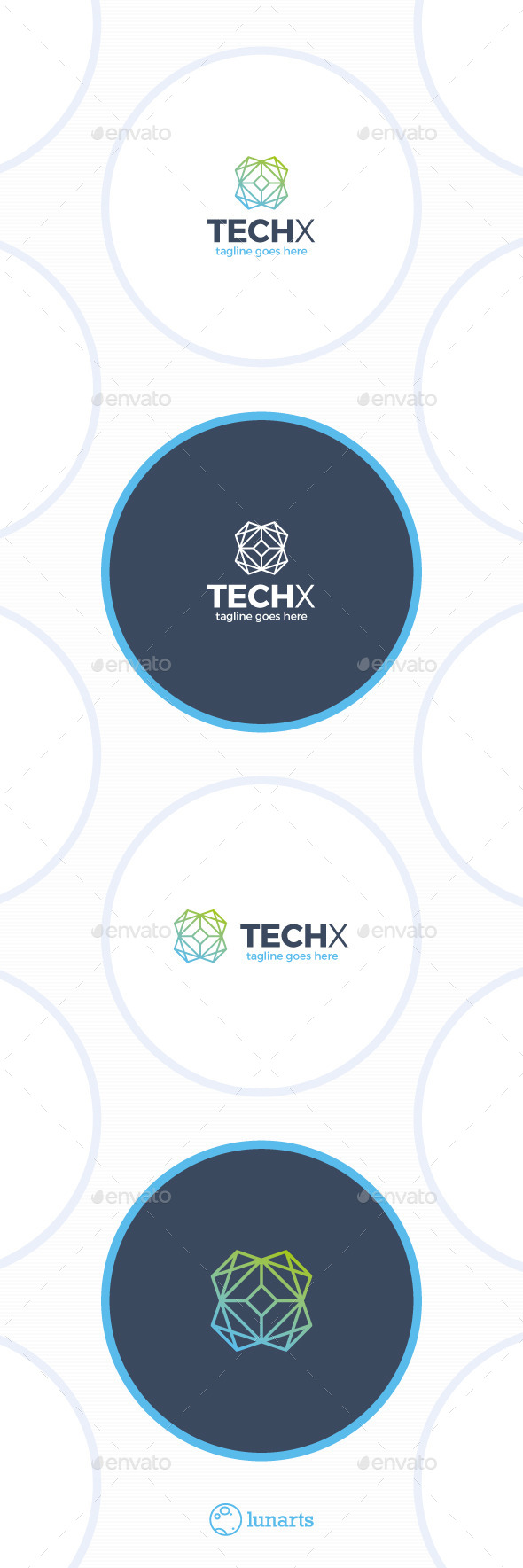 Tech Line Logo - Letter X - Letters Logo Templates