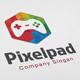 Pixel Pad Logo - GraphicRiver Item for Sale