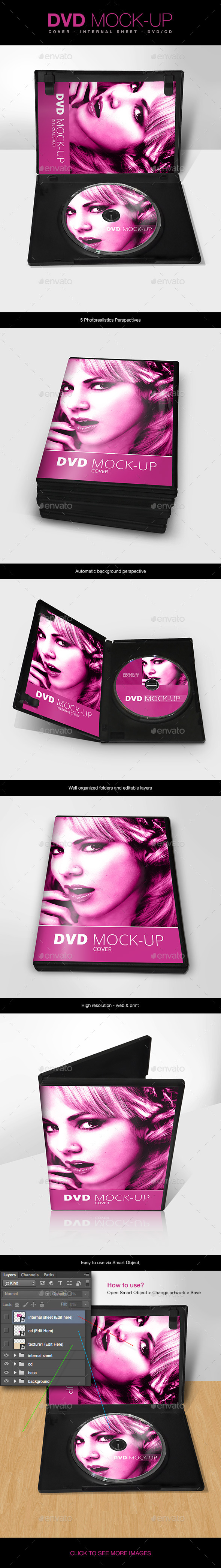 DVD Mock-up - Miscellaneous Print
