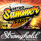 Retro Summer Party Flyer Template - GraphicRiver Item for Sale