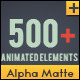 Shape Elements Quick Time with Alpha Channel - VideoHive Item for Sale