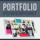Portfolio PowerPoint Template - GraphicRiver Item for Sale