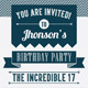 Birthday or Graduation Party Invitation - GraphicRiver Item for Sale