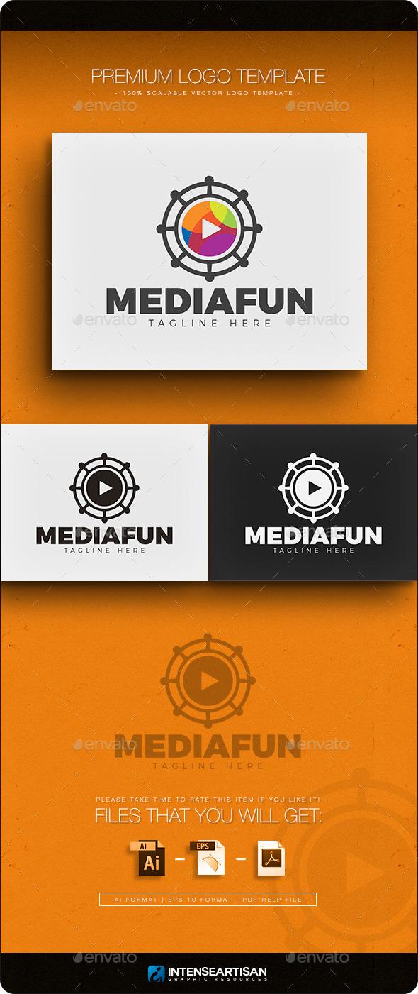 Media Fun Logo  - Objects Logo Templates