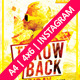Throwback Friday - with Instagram - GraphicRiver Item for Sale