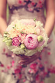 Beautiful wedding bouquet and floral dress - PhotoDune Item for Sale