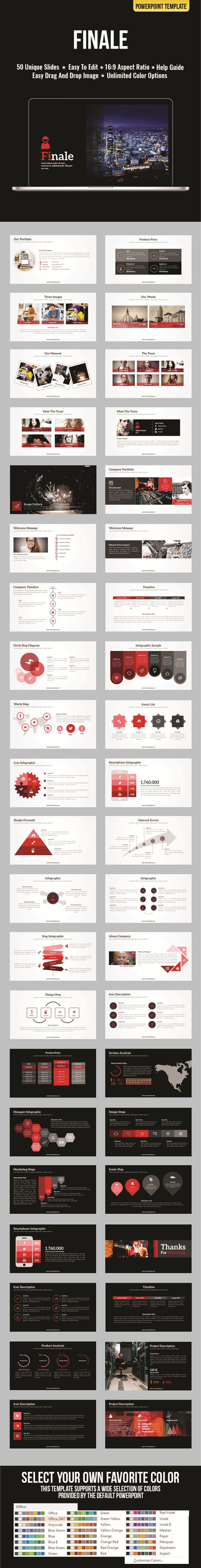 Finale - Business PowerPoint Templates