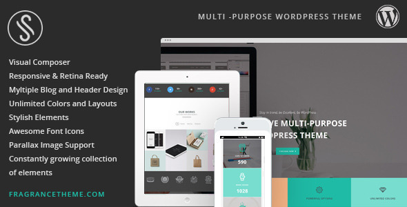 Sarah | Responsive Multi-Purpose Theme - Creative WordPress