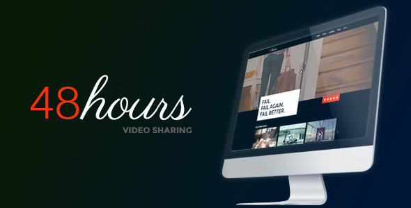 48Hours Video Sharing – a premium HTML Template