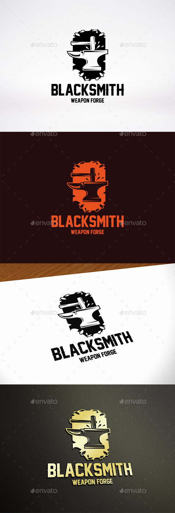 Blacksmith Logo Template - Objects Logo Templates