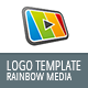 Rainbow Media Logo Template - GraphicRiver Item for Sale