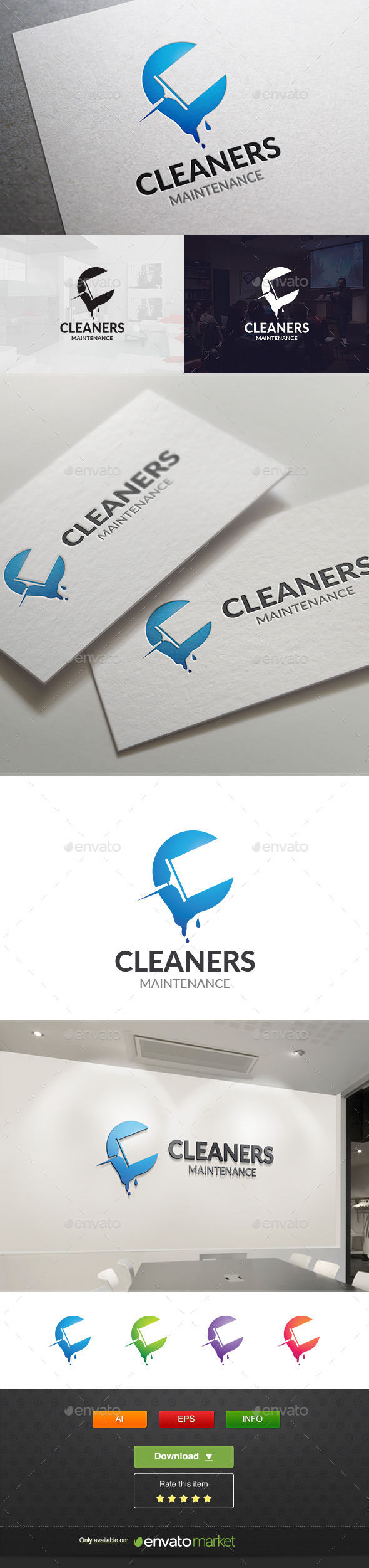 Clean Tool - Objects Logo Templates