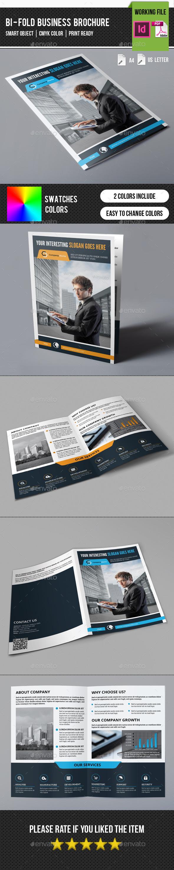 Corporate Bifold Brochure-V255 - Corporate Brochures