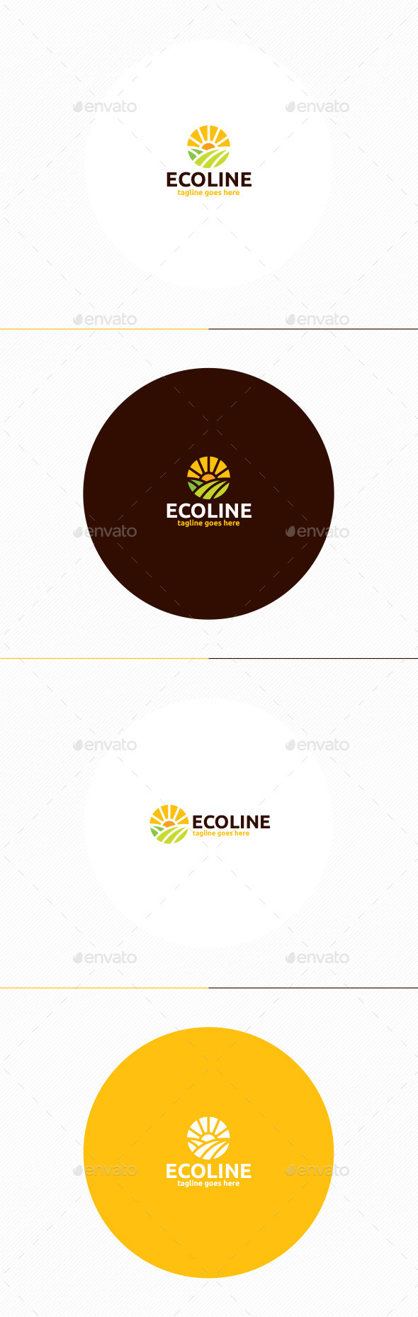 Eco Line Logo - Nature Logo Templates