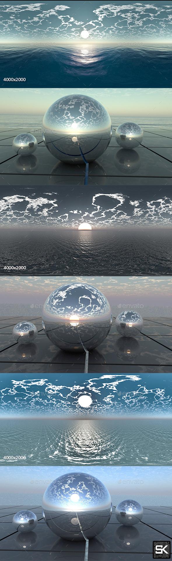 HDRI Pack. Sea - 3DOcean Item for Sale