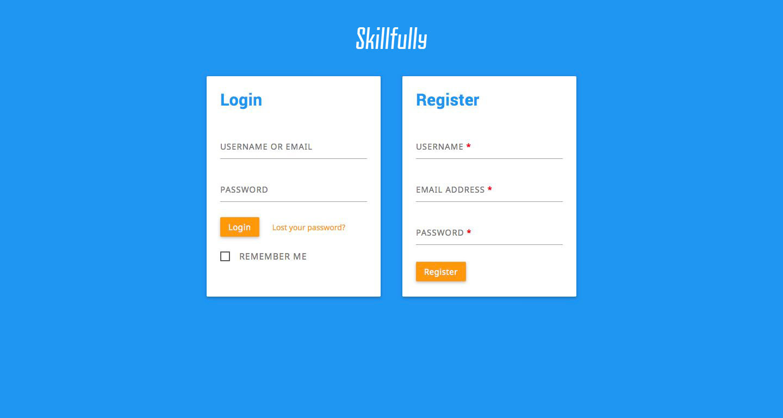 professional login page template - Roho.4senses.co