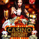Casino Night Flyer Template - GraphicRiver Item for Sale