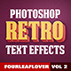 Retro PSD Text Effects vol.2 - GraphicRiver Item for Sale