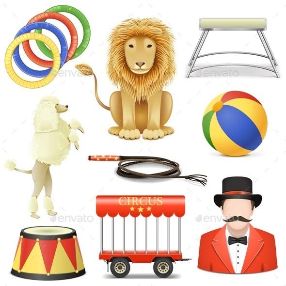 Circus Icons Set 3 - Miscellaneous Seasons/Holidays