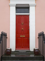 Red front door - PhotoDune Item for Sale