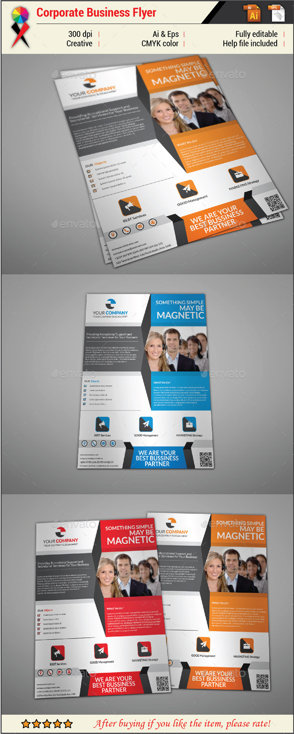 Creative Business Flyer Template - Corporate Flyers