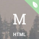 materialog - Material Design HTML5 Blog Template Nulled