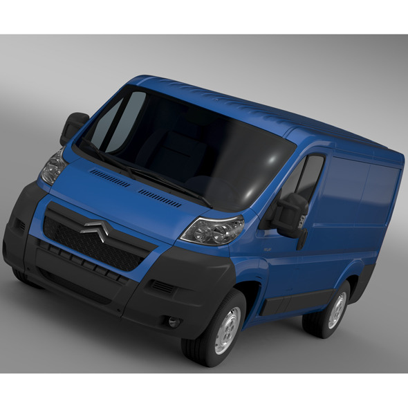 Citroen Relay Van L1H1 2006-2014 - 3DOcean Item for Sale