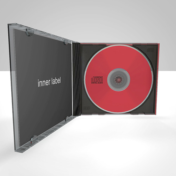 compact disc + jewel case - 3DOcean Item for Sale
