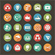 Modern Flat Icons - GraphicRiver Item for Sale