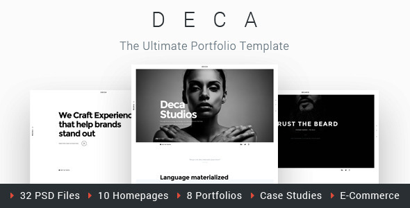 Peter - Creative Portfolio Template for Creatives , Freelancers & Professional Individuals