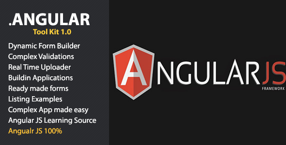 jAngular Toolkit for Angular JS - CodeCanyon Item for Sale