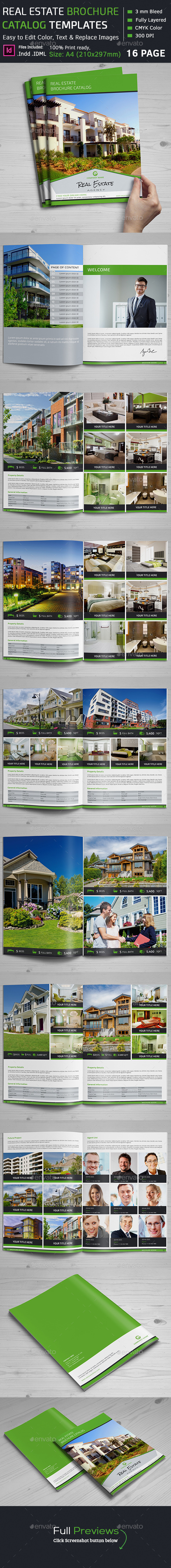 Real Estate brochure Catalog - Catalogs Brochures
