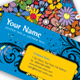 Flower Power - Visual impact business card - GraphicRiver Item for Sale