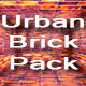 19 Abstract Urban Brick Room Interior Stage Pack - GraphicRiver Item for Sale