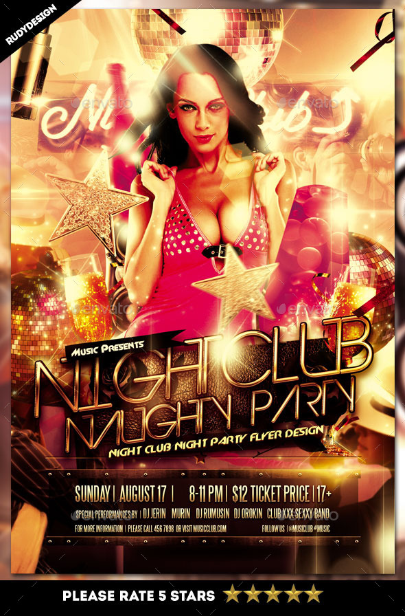 Night Club Naughty Party - Clubs & Parties Events