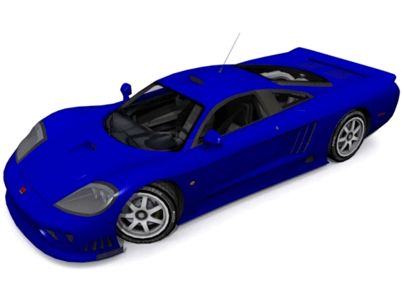 Saleen S7 Twin Turbo - 3DOcean Item for Sale