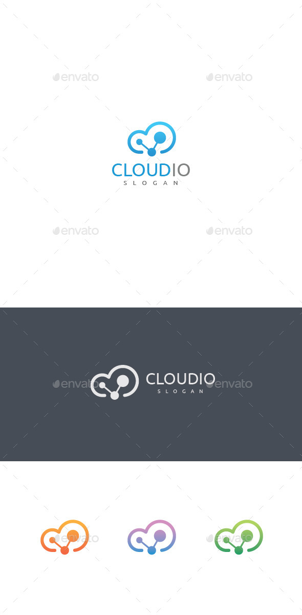 Cloud Logo Template - Objects Logo Templates